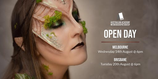 The Australian Academy of Cinemagraphic Makeup Brisbane Campus Open Day