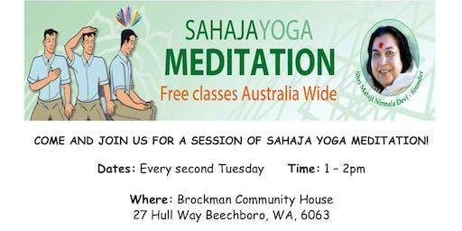 Free Sahaja Yoga & Meditation