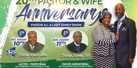Pastor & Wife Pastoral Appreciation tickets