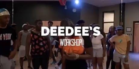 DeeDee's Afrodance Workshop & Shoki dem music video tickets