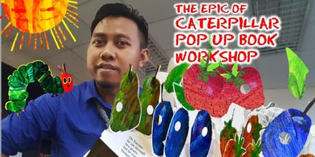 Pop-Up Book Workshop with Mr. Rizal (Talented Malaysian Pop-Up Book Maker) at MidValley Southkey tickets