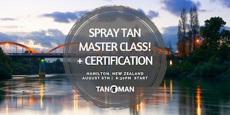 Spray Tan Master Class | Hamilton, NZ tickets