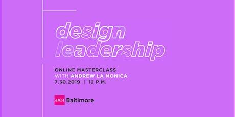 Design Leadership Digital Talk  tickets