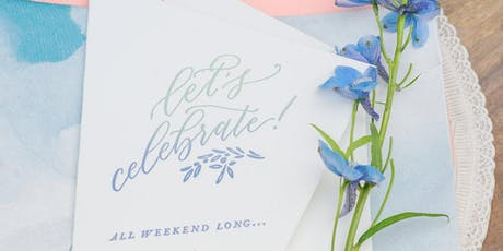 Modern Calligraphy for Beginners tickets