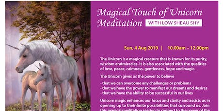 Magical Touch of Unicorn Meditation tickets