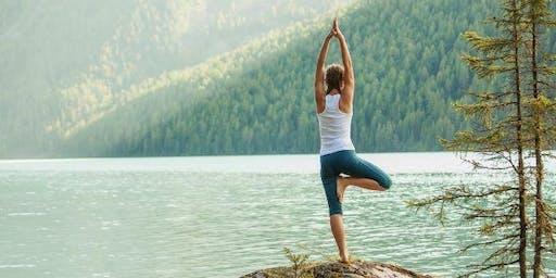 Power Yoga at Athleta with New Angle Yoga