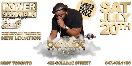 Barcode Saturdays w/ Dj Big Rob from 93.7 WBLK tickets