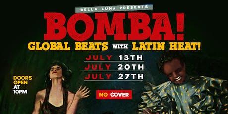Bomba tickets
