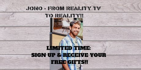 Jono and Friends - From Reality TV to Reality! tickets