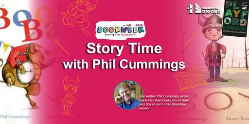 Book Week: Story Time with Phil Cummings