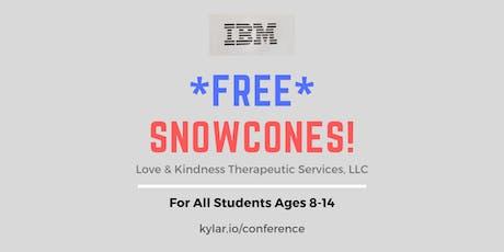 Kylar.io Giving Away 200 Free Snow Cones @ SLU! tickets