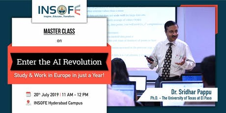 Enter the AI Revolution: Study & Work in Europe in just a year! tickets