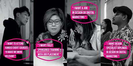 Get UPGRADING, GET HIRED in various DIGITAL JOBS (SUBSIDIZED & FULLY SPONSORED TRAINING AVAILABLE) tickets