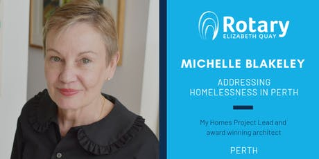Addressing Homelessness in Perth - My Homes with Michelle Blakeley tickets