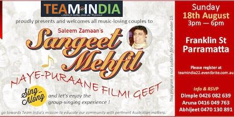 Sangeet Mehfil tickets