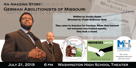 An Amazing Story: German Abolitionists in Missouri tickets