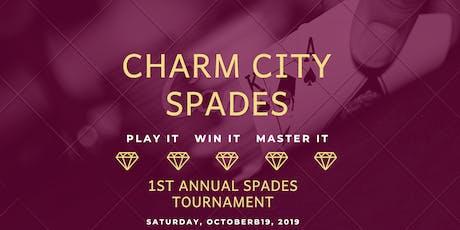 Charm City Spades ♠️ 1st Annual Spades Tournament tickets