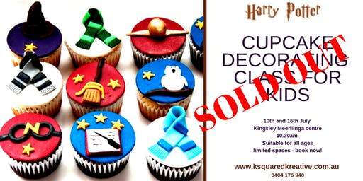 July 16th - Kids Kingsley: Cupcake Decorating Class
