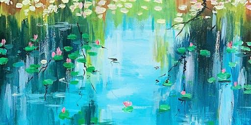 Paint & Sip -Aquatic Plants