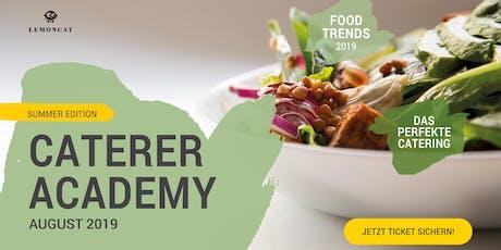 Das perfekte Catering-Event. LEMONCAT Caterer Academy mit Doreen Huber. Tickets