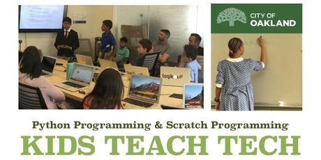 Kids Teach Tech Free Coding Classes for Kids tickets