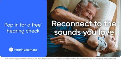Hearing Australia - Free Hearing checks @ Leongatha Library tickets