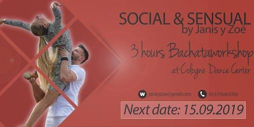 Social & Sensual Day mit Janis y Zoe - 3 Stunden Bachataworkshop
