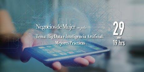 Big Data e Inteligencia Artificial: Mejores Prácticas  tickets