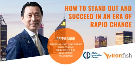 How to stand out and succeed in an era of rapid change tickets