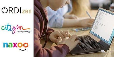 Stage d'été coding ados 13-18 ans (du 19 au 23.8 14h-17h) billets