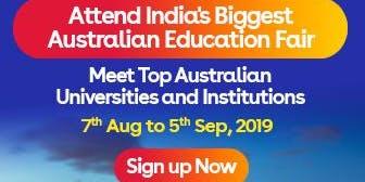 Apply to Australian universities at IDP's Free Australia Education Fair in Vadodara – 7 Aug 2019 to 5 Sept 2019
