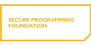 Secure Programming Foundation 2 Days Training in Tampa, FL
