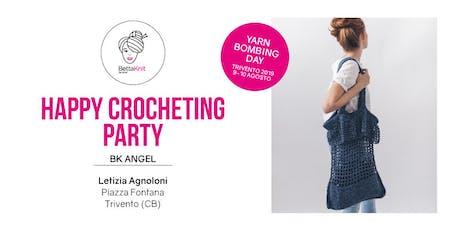 Crocheting Party - La Plage Bag - TRIVENTO - YARN BOMBING DAY biglietti
