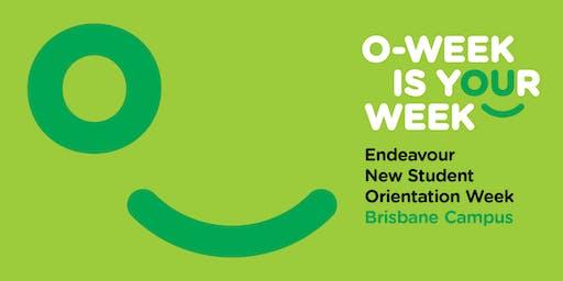 Endeavour Orientation Week - Semester 2, 2019. Brisbane Campus.