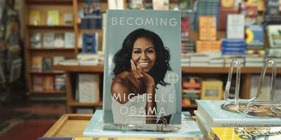 "Come. Listen. Share: Workshop in English on Michelle Obama's ""Becoming"""