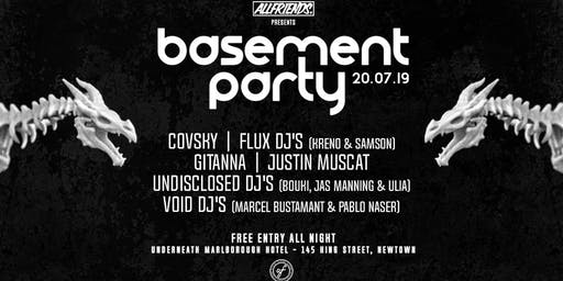 Allfriends Basement Party #13 - This Saturday!