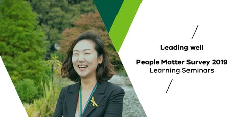 People Matter Survey learning seminar: building workforce resilience tickets