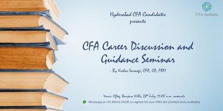 CFA Career Discussion and Guidance tickets
