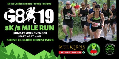 Slieve Gullion Runners G8:19 tickets