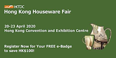 HKTDC Hong Kong Houseware Fair tickets