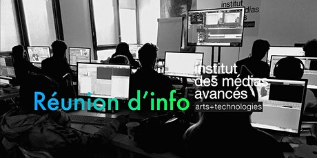Institut des médias avancés - Montpellier - Réunion d'information billets