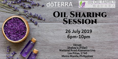 Oil Sharing Session tickets