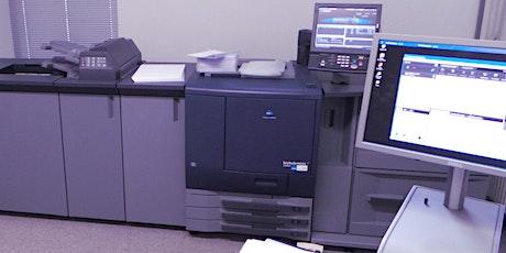 Medientechnologe Digitaldruck: Prüfungsvorbereitung II Zwischenprüfung Praxis mit Prüfungsstück Tickets