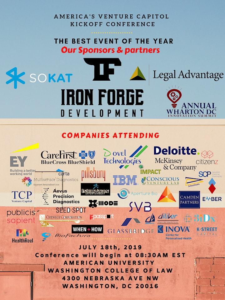 America's Venture Capitol - Kickoff Conference image