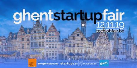 Ghent Startup Fair tickets