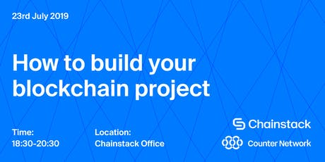Blockchain and DApps Meetup: How to Build Your Blockchain Project with Chainstack and Counter Network tickets
