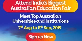 Apply to Australian universities at IDP's Free Australia Education Fair in Kochi  – 7 Aug 2019 to 5 Sept 2019