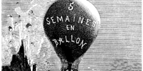 谷雨书苑第225期 -The forerunners of the last frontier: a portrait of Africa in Jules Verne's Five Weeks in A Balloon by Christine Li tickets