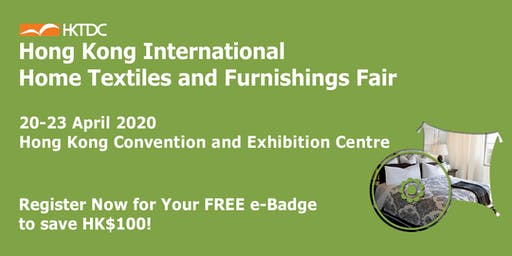 HKTDC Hong Kong International Home Textiles and Furnishings Fair
