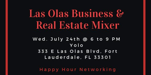 Las Olas Business & Real Estate Mixer